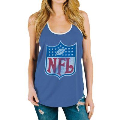 Women's NFL Shield Goal Line Tank Top