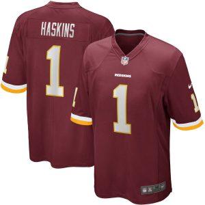 Dwayne Haskins Washington Redskins Nike 2019 NFL Draft First Round Pick Game Jersey