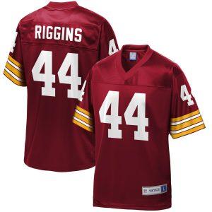 Men's Washington Redskins John Riggins NFL Pro Line Burgundy Retired Team Player Jersey