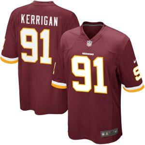 Mens Washington Redskins Ryan Kerrigan Nike Burgundy Game Jersey