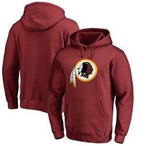 NFL Pro Line Washington Redskins Burgundy Primary Logo Hoodie