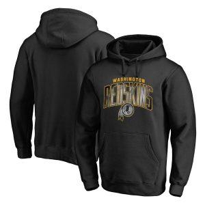 NFL Pro Line by Fanatics Branded Washington Redskins Black Arch Smoke Pullover Hoodie