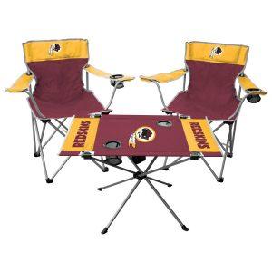 Rawlings Washington Redskins Tailgate Chair And Table Set