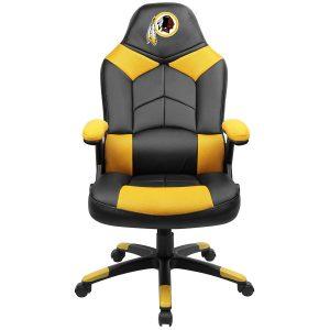 Washington Redskins Black Oversized Gaming Chair