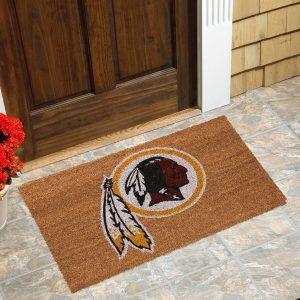 Washington Redskins Logo Coir Door Mat
