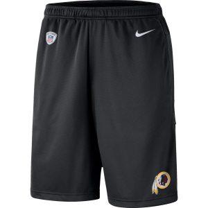 Washington Redskins Nike Sideline Coaches Shorts – Black
