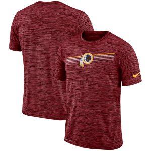 Washington Redskins Nike Sideline Velocity Performance T-Shirt – Heathered Burgundy
