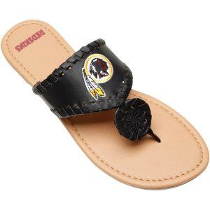 Washington Redskins Women's Monotone Whipstitch Sandals